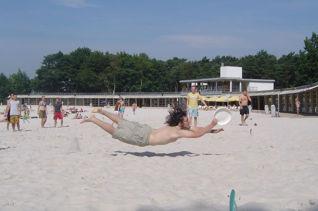 First Ultimate Beach Field In Belgium Image